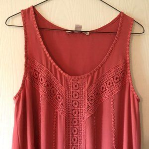 Forever 21 Maxi Dress in Coral